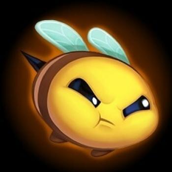 화난 꿀벌